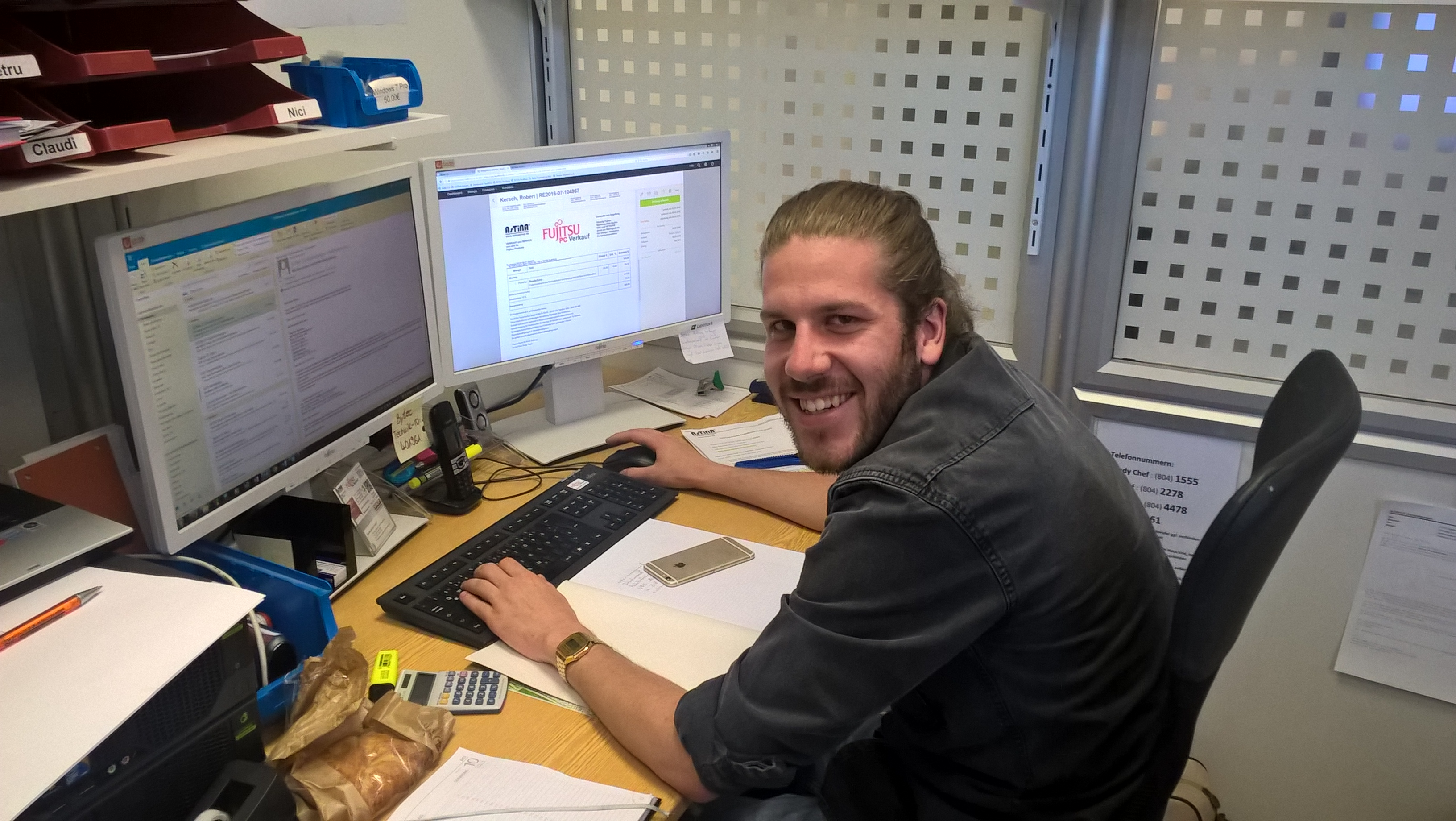 Neu im AsTiNA Team Tobias Aidelsberger